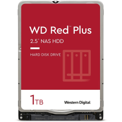 Western Digital® Red 1TB Internal Hard Drive For NAS, 16MB Cache, SATA/600, WD10JFCX