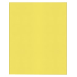 Office Depot® Brand 2-Pocket Textured Paper Folders, Yellow, Pack Of 10