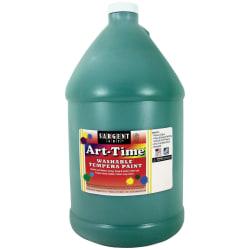 Sargent Art® Art-Time Washable Tempera Paint, 1 Gallon, Green