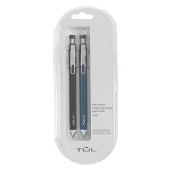 TUL® Mechanical Pencils, 0.7 mm, Black & Navy Barrels, Pack Of 2 Pencils