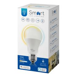 Euri LED Smart Wi-Fi Tunable A19 LED Bulb, 800 Lumens, 10 Watts, 2000 - 5000 Kelvin, 1 Each