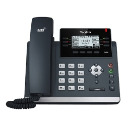 Yealink Ultra-Elegant HD VoIP Phone, YEA-SIP-T42S