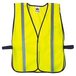 8020HL  Lime Non-Certified Standard Vest