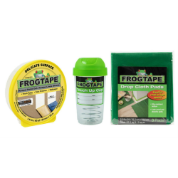 """Duck® Brand FrogTape Decorative Paint Project Prep Pack, 1.41"""" x 60 Yd"""