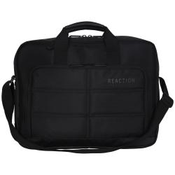 Kenneth Cole Reaction Hideout Computer Portfolio With 15.6 Laptop Pocket, Black