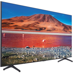 "Samsung Crystal TU7000 UN65TU7000F 64.5"" Smart LED-LCD TV - 4K UHDTV - Titan Gray, Black - LED Backlight - Alexa, Google Assistant Supported - TV Plus - Tizen - Dolby Audio"
