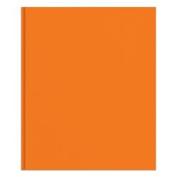 Office Depot® Brand 2-Pocket Paper Folder with Prongs, Letter Size, Orange