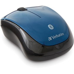 Verbatim Bluetooth® Wireless Tablet Multi-Trac Blue LED Mouse - Dark Teal - Blue LED - Wireless - Bluetooth - Dark Teal - 1600 dpi - Symmetrical