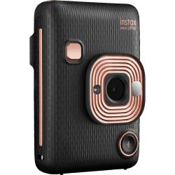 """instax mini LiPlay Instant Digital Camera - Elegant Black - 2.7"""" LCD - 2560 x 1920 Image"""