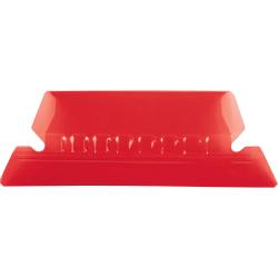 Pendaflex® Hanging File Folder Plastic Tabs, Red, Pack Of 25