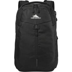 """High Sierra Swerve Pro Backpack With 17"""" Laptop Pocket, Black"""
