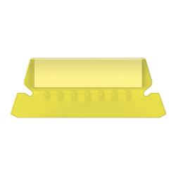 Pendaflex® Hanging File Folder Plastic Tabs, Yellow, Pack Of 25