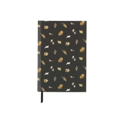 "Nicole Miller Casebound Notebook, 5 3/4"" x 8"", 80 Pages, Animal"