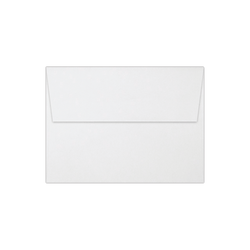 "LUX Invitation Envelopes With Peel & Press Closure, A6, 4 3/4"" x 6 1/2"", White, Pack Of 50"