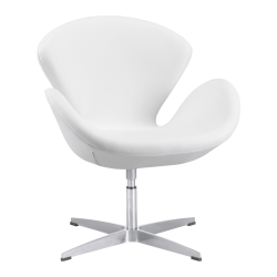 Zuo Modern Pori Arm Chair, White