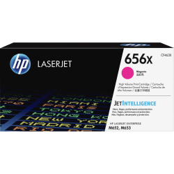 HP 656X High-Yield Magenta Toner Cartridge