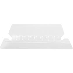 Pendaflex® Hanging File Folder Plastic Tabs, Clear, Pack Of 25