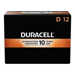 Duracell® Coppertop D Alkaline Batteries, Box Of 12