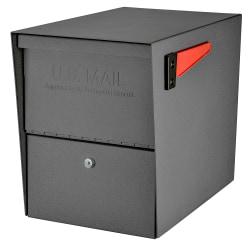 "Mail Boss™ Package Master Locking Mailbox, 16 1/2""H x 12""W x 21 1/2""D, Granite"