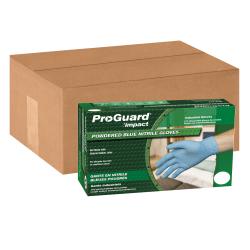 ProGuard General Purpose Disposable Nitrile Gloves, Large, Blue, 100 Per Box, Case Of 10 Boxes