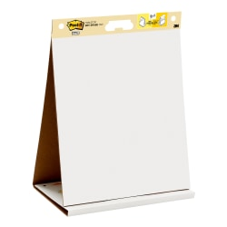 "Post-it® Notes Super Sticky Dry-Erase Tabletop Easel Pad, 20"" x 23"", Pad Of 20 Sheets"