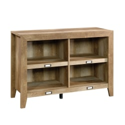 "Sauder® Dakota Pass Anywhere Console For 42"" TVs, 29""H x 42""W x 16-1/2""D, Craftsman Oak"