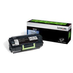 Lexmark™ 52D1H0L High-Yield Black Toner Cartridge For Labels
