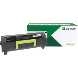 Lexmark™ 50F1U00 Return Program High-Yield Black Toner Cartridge