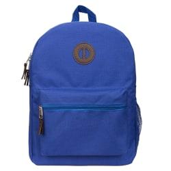 "Office Depot® Brand Basic Backpack With 16"" Laptop Pocket, Blue"