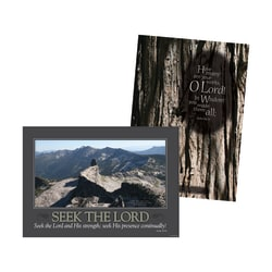 Barker Creek® Poster Duet Set, Natural Wonders, Pack Of 2