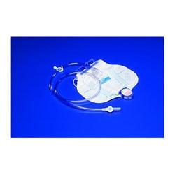 CURITY™ Drain Bag With MONO-FLO™ Anti-Reflux Device With SPLASHGUARD II™ Drain Spout, CSR Wrap, 2000 mL