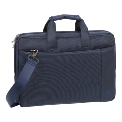 "Rivacase 8221 Laptop Bag With 13.3"" Laptop Pocket, Blue"
