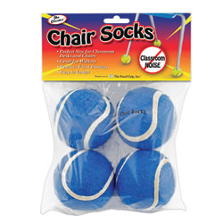 The Pencil Grip® Chair Socks, Blue, Pack Of 144 Chair Socks