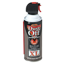 Dust-Off Plus Disposable Compressed Gas Duster, 10 Oz