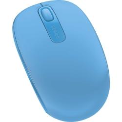 Microsoft® Mobile Wireless Mouse, Cyan Blue, 1850