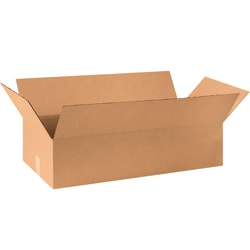 """Office Depot® Corrugated Garment Boxes, 36"""" x 20"""" x 9"""", Kraft, Pack Of 15 Boxes"""