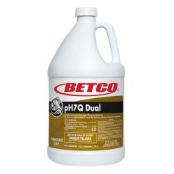 Betco® pH7Q Dual Multi-Purpose Cleaner, 136 Oz, Pleasant Lemon Scent, Box Of 4