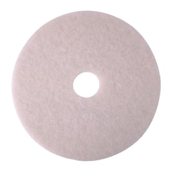 """Niagara™ 4100N Polishing Pads, 19"""", White, Case Of 5"""