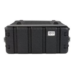 "Tripp Lite 4U ABS Server Rack Equipment Flight Case for Shipping & Transportation - External Dimensions: 20"" Width x 21.6"" Depth x 9"" Height - 75 lb - Latch Lock Closure - Heavy Duty - ABS Plastic - Black"