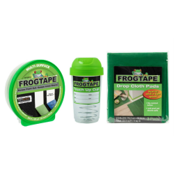 """Duck® Brand FrogTape Small Paint Project Prep Pack, 0.94"""" x 60 Yd"""