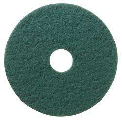 """Niagara™ Scrubbing Floor Pads, 5400N , 13"""", Green, Pack Of 5"""