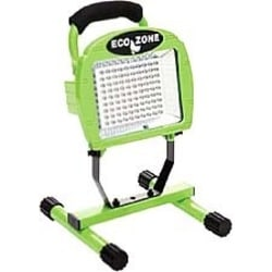 Coleman Cable L1306 - L-1306 108 LED Non-rechargeable Worklight - 6 W - PolymerHousing, SteelHandle, SteelStand - Green