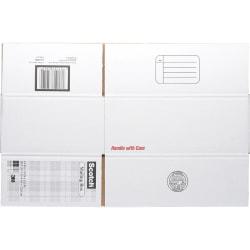 "Scotch® Mailing Box, 14"" x 10"" x 5 1/2"", White"