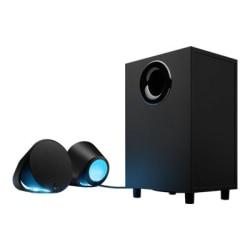 Logitech LIGHTSYNC G560 2.1 Bluetooth Speaker System - 240 W RMS - Black - 40 Hz to 18 kHz - USB