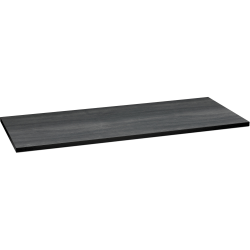 "HON® 60""W Huddle Rectangular Table Top, Gray"