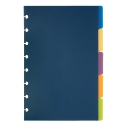 TUL® Discbound Tab Dividers, Junior Size, Assorted Colors