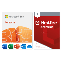 Microsoft 365 Personal - McAfee Antivirus