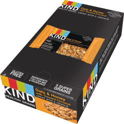 KIND® Oats & Honey With Toasted Coconut Grains Bars, 1.20 Oz, Box Of 12