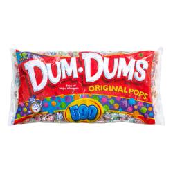 Dum Dums Original Lollipops Bulk Variety Pack, Bag Of 500 Lollipops