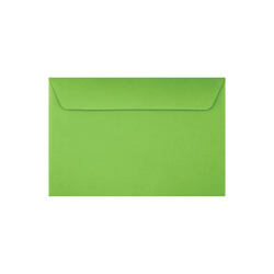 """LUX Booklet Envelopes With Moisture Closure, #6 1/2, 6"""" x 9"""", Limelight, Pack Of 50"""